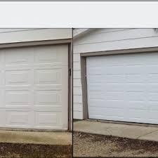 amarr garage doorsEXTERIOR DESIGN Appealing Gray Amarr Garage Doors With Brick Wall