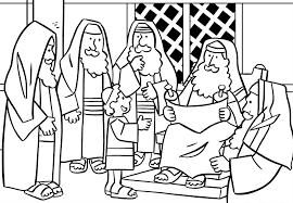 12 Jarige Jezus In De Tempel Kleurplaat Ausmalbild Der 12jhrige