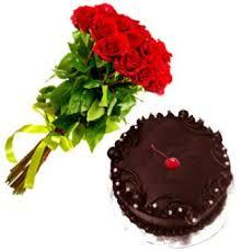 roses and cake birthday vanasthalipuram hyderabad