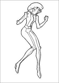 20 Best Totally Spies Images Coloring Pages For Kids Colouring