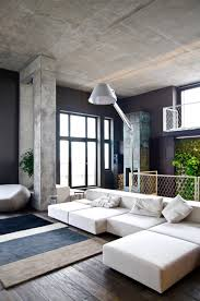 Splendid Living Room At Loft Apartment Design Ideas Containing - Decorating loft apartments