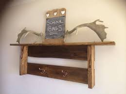 pallet wood wall shelf and coat rack easy ideas designs ideas diy rustic