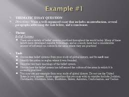 thematic essay how to powerpoint lesson global studies by thematic essay how to powerpoint lesson global studies
