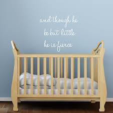 on wall decal quotes for nursery with nursery wall decals quote nursery quote fabric wall decals