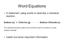 19 word equations