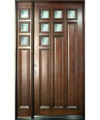 Single Front Door Designs Modern Euro Collection Mahogany Wood