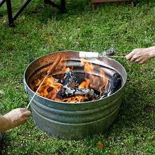 Diy portable fire pit Backyard Portable Fire Pit Ideabackyard Pinterest Martie Knows Parties Backyard
