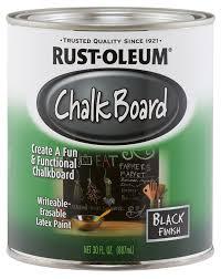 Amazon.com: Rust-Oleum 206540 Chalkboard Brush-On, Black, 30-Ounce: Home  Improvement