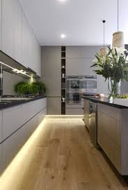 Led Strip Lights For Under Kitchen Cabinets Amazing Grey Kitchen