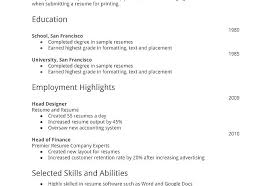 Free Easy Resume Easy Resume Templates Basic Resume Templates ...