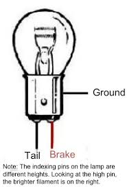 tail light repair 1987 toyota irv2 forums Light Bulb Socket Wiring Diagram not just relying on the housing fastener too many places for the ground to fail on an 1157 bulb or socket, this is the correct setup lighting socket wiring diagram