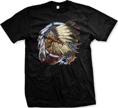 Indian Chief Dream Catcher Inspiration NATIVE AMERICAN INDIAN Chief Dream Catcher Spirit Animal Mens T