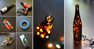 Decorative Wine Bottles With Lights How to Make Wine Bottle Light DIY Crafts Handimania 82