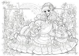 ぬりえ姫プリンセスローゼ Art Inspiration 塗り絵ぬり絵