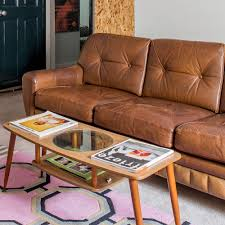 how to clean a leather sofa