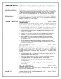 Clerical Resume Templates Inspiration Clerical Clerk Resume Clerical Work Resume Clerical Sample Resume