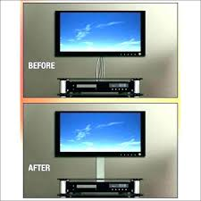 conceal tv wires hide in wall how to cables without cutting brick on hiding kit