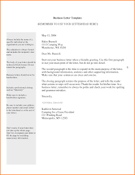 letter template for business quote templates 4 letter template for business