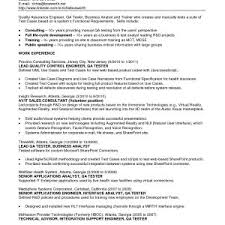 Call Center Quality Assurance Resume Updated Resume Sample For ...