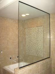 glass shower wall panels open shower estate glass partition orb cl glass shower wall panels uk