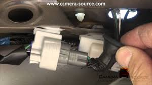 2006 4 runner backup camera install (part 1) youtube 2014 toyota hilux reverse camera wiring diagram Hilux Reverse Camera Wiring Diagram #32