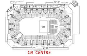 Cn Center Seating Chart Prince George Cn Centre Wiki Gigs