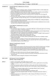 Project Portfolio Analyst Resume Samples Velvet Jobs