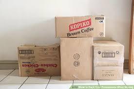 flyttfirma och lådor