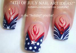 Robin Moses Nail Art: 4TH OF JULY Nail Tutorial UP TODAY! Red ...