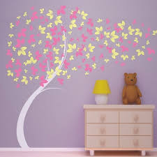 tree wall decals for girls room