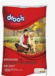 drools optimum performance dog food
