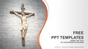 Christian Templates Jesus Christ Religion Powerpoint Templates