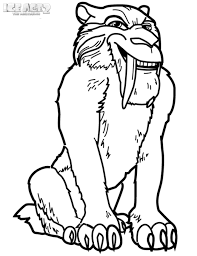 Small Picture Kids n funcom 7 coloring pages of Ice Age