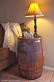 the hankful house new york vintage barrel end table
