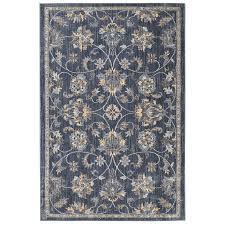 mohawk home isburg denim indoor area rug common 5 x 8 actual