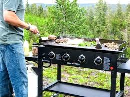 griddle cooking station 4 burner gas griddle cooking station outdoor indoor black big for
