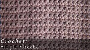 Single Crochet Patterns