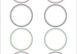Avery Round Sticker Template Avery 22807 Labels The Hakkinen