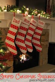 Quilted Christmas Stocking Pattern Simple Quilt Inspiration Free Pattern Day Christmas Stockings