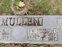 Willie Norman Mullen (1887-1967) - Find A Grave Memorial