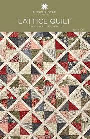 Best 25+ Quilt patterns ideas on Pinterest | Baby quilt patterns ... & Digital Download - Lattice Quilt Pattern from Missouri Star Quilt Co Adamdwight.com