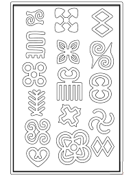 To download our free coloring pages, click on the weather symbol you'd like to color. African Symbols Coloring Pages And Other Free Printable Design Themes