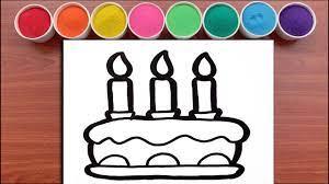 Tô Màu Tranh Cát CHIẾC BÁNH SINH NHẬT SOCOLA - Sand Painting Cake Birthday  Chocolate - Dạy vẽ và tô màu tranh dành cho bé - Kho gấu bông giá rẻ nhất  Việt Nam