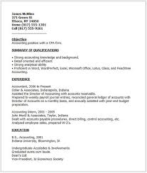 Examples Of Good Resumes Example Of A Resume For A Job And Resume
