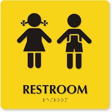 preschool bathroom signs. School Restroom And Unisex Nursery, Preschool ADA Signs Bathroom