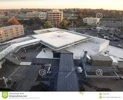 Hospital Heliport Design Helipad On Hospital Rooftop Editorial Stock Image Image Of