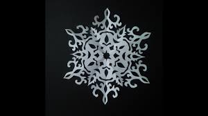 How To Make Paper Snowflake 5 Beautiful Snowflake Pattern For