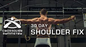 Crossover Symmetry Iron Scap Chart The 30 Day Shoulder Fix A Message From Crossover Symmetry