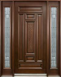 single front doors. classic series mahogany solid wood front entry door - single with 2 sidelites gd- doors a