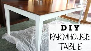 Diy Farmhouse Table For 70 Step By Step Chalk Paint Recipe